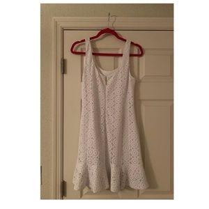 Lilly Pulitzer Dresses - Lilly Pulitzer Sevilla Crochet Dress Size M